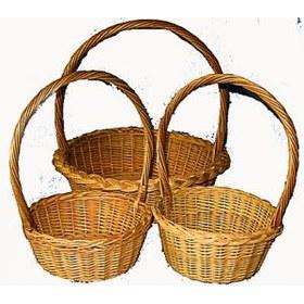 Предлагаем плетеные корзинки из лозы по размерам заказчика. e-mail...